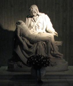 聖マリア大聖堂のピエタ象