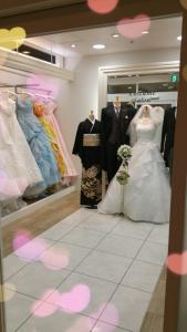ルミアモーレのウェディングドレスショップ