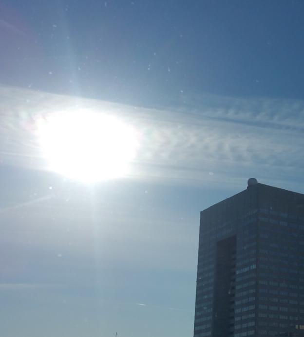 20180116六角形の太陽と龍神雲
