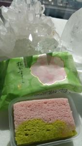 桜カステラ