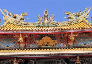 聖天宮の屋根