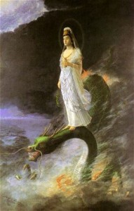 女神と龍神