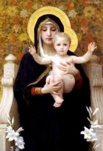 聖母マリアと赤ちゃん