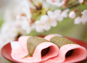 江戸風桜餅